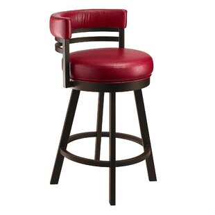 Cordelia 26 Swivel Bar Stool by Orren Ellis