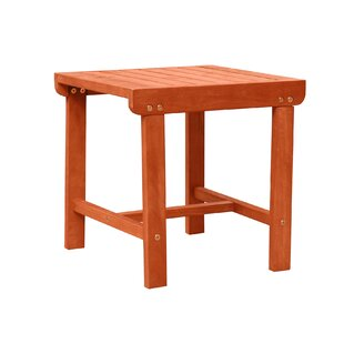 Casto Wooden Side Table