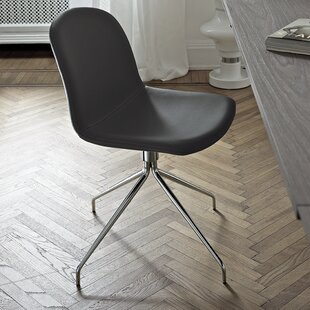 Genuine Leather Upholstered Dining Chair Bontempi Casa