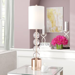 Ester Glass Stacked Ball 36 Table Lamp
