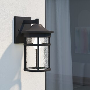 Read Reviews Ilene 1-Light Outdoor Wall Lantern By Latitude Run