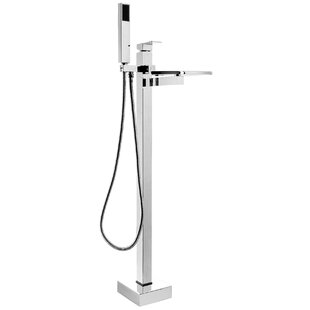 Double Handle Floor Mounted Freestanding Tub Filler By AKDY