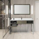 58 Single Bathroom Vanity Set with Mirror by Samuel Lawrence Hospitality