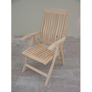 Roble Folding Teak Patio Dining Chair