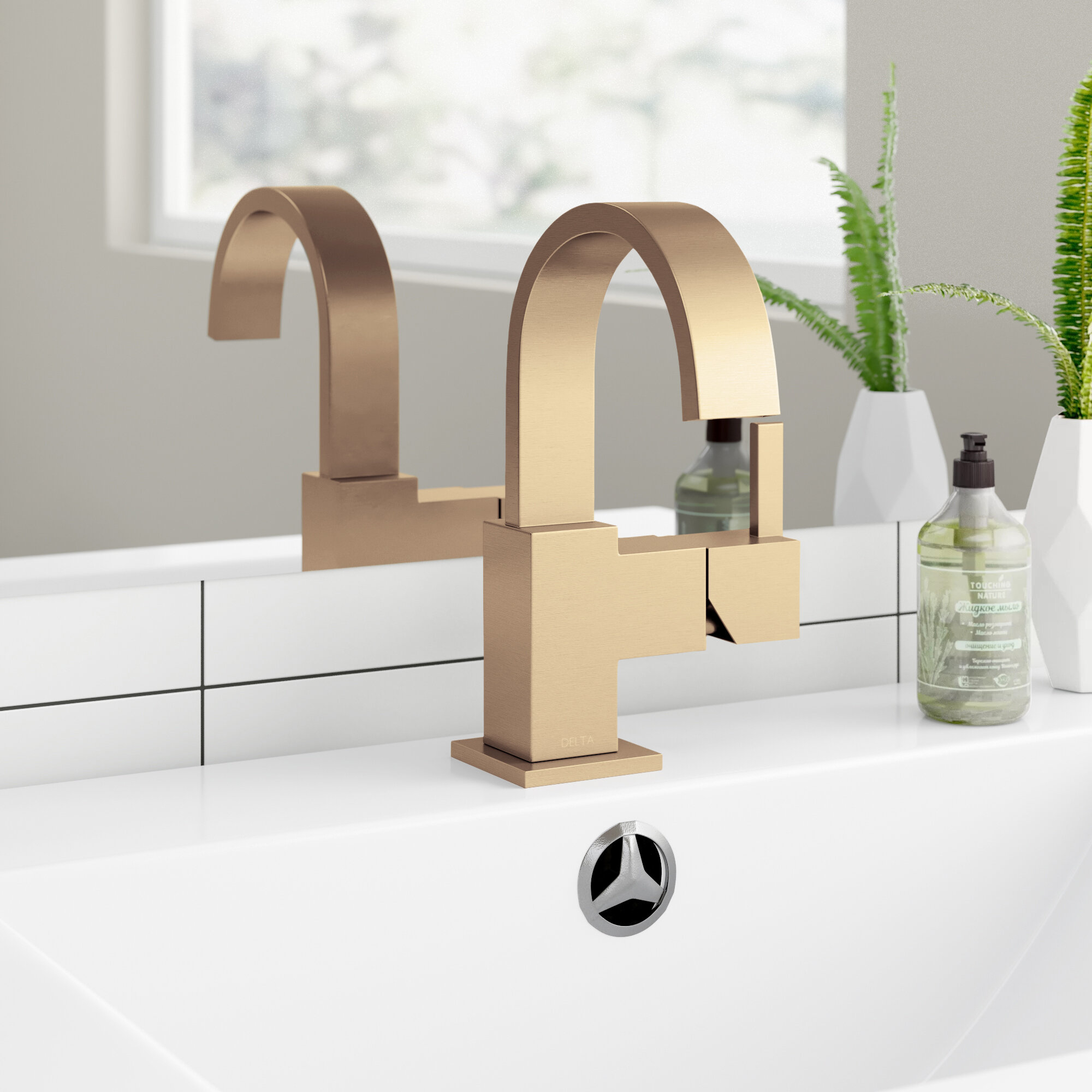 Vero Single Hole Bathroom Faucet With Drain Assembly Reviews Allmodern