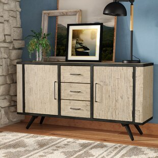 Shirlee Solid Wood Buffet Table by Union Rustic