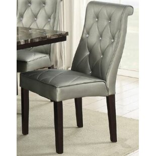 Montanez Upholstered Dining Chair (Set of 2)