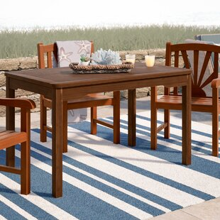 Pine Hills Dining Table by Beachcrest Home Today Sale Only