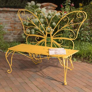 Skyla Iron Garden Bench