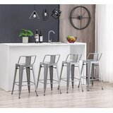 Grady 24 Bar Stool (Set of 4) by 17 Stories