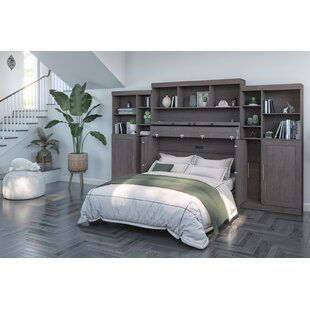 Pitcairn Storage Murphy Bed with Mattress