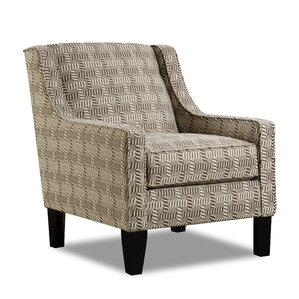 Woolsey Upholstery Geometric Armchair by Sim..
