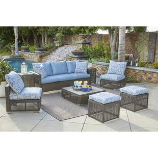 Sarver 8 Piece Sofa Set with Cushions