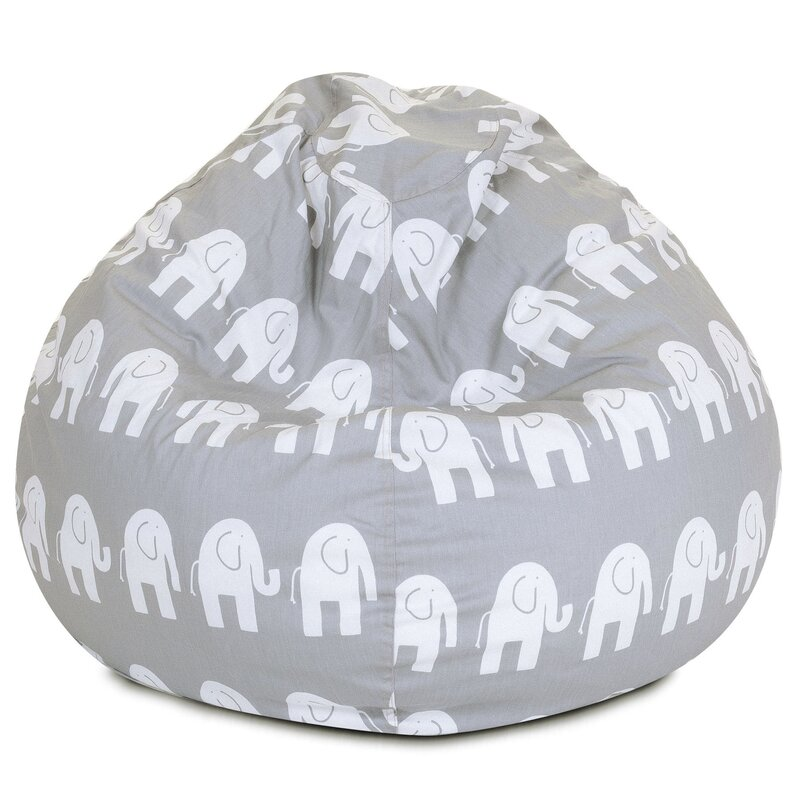 Mack   Milo Elephant Bean Bag Chair   Reviews  bd45b0f3161d9