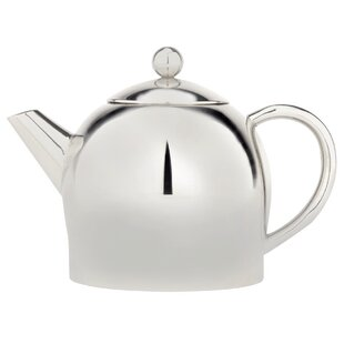 Stainless Steel 1 Lt Double Wall Teapot