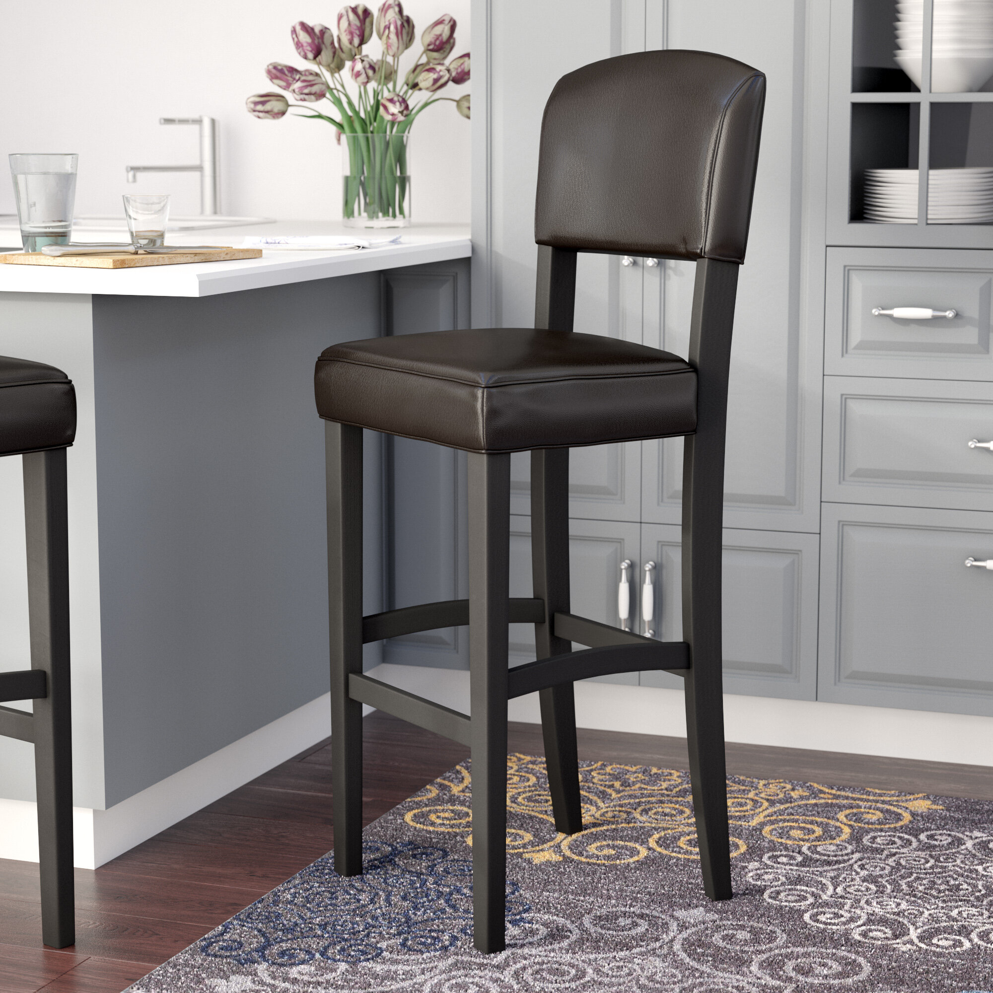 Swell Caldwell Bar Counter Stool Pabps2019 Chair Design Images Pabps2019Com
