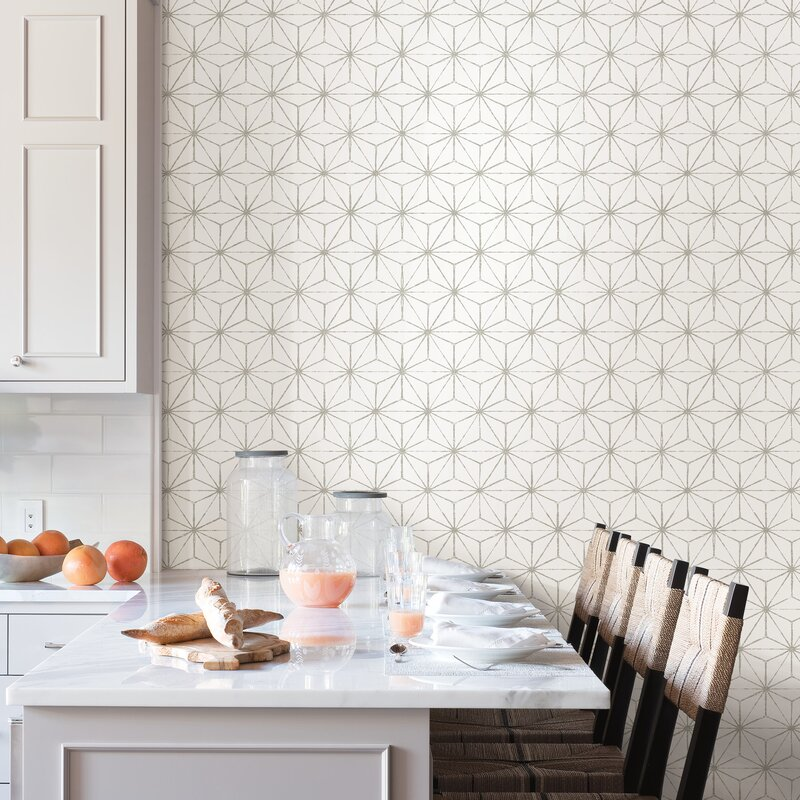 Wrought Studio Izaak 18 L X 20 5 W Peel And Stick Wallpaper Roll