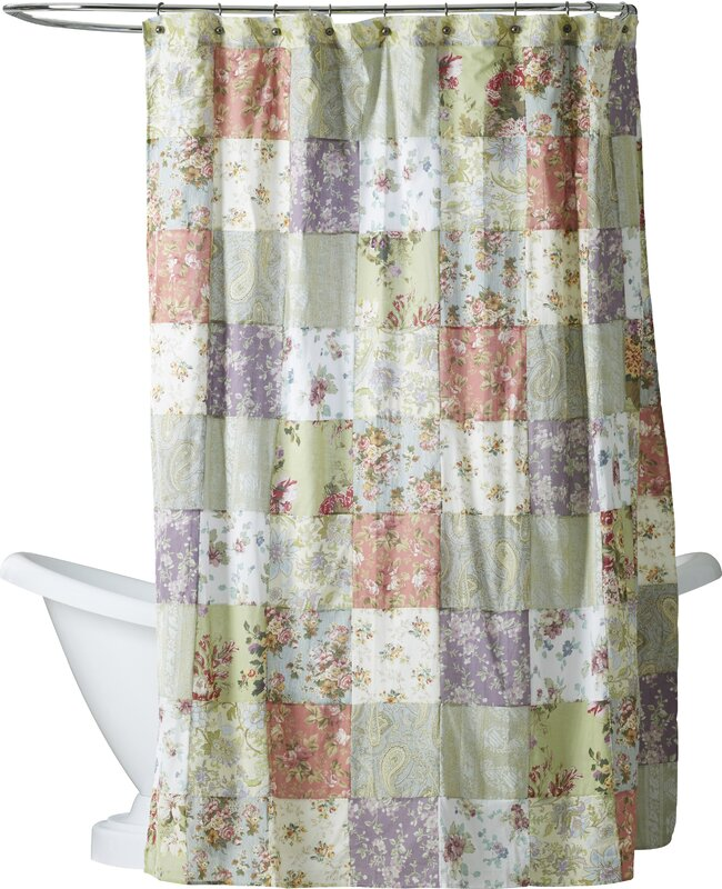 purple and brown shower curtain. Bauer Patchword Cotton Shower Curtain Purple Curtains You ll Love  Wayfair