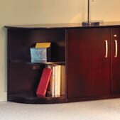 Corsica Corner Unit Bookcase Mayline Group