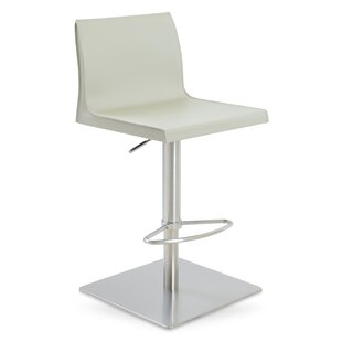 Polo Adjustable Height Swivel Bar Stool