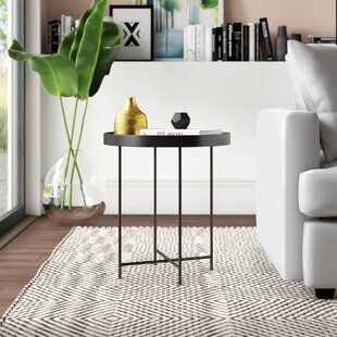 Find a Posner Tray Table by Mercury Row