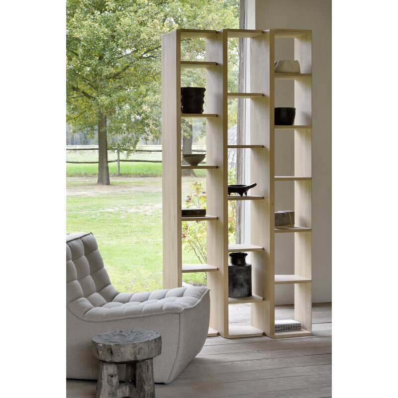 Geometric Stairs Geometric Staircase Melbourne: Ethnicraft Oak Stairs Geometric Bookcase
