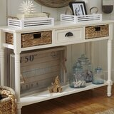 Santa Cruz Console Table by Beachcrest Home