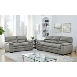Albritton 2 Piece Leather Living Room Set by Red Barrel Studio®