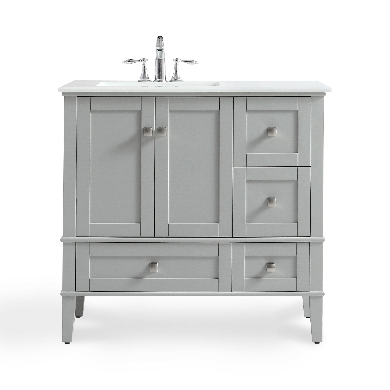 Pleasant Burholme 37 Single Bathroom Vanity Set Home Interior And Landscaping Spoatsignezvosmurscom