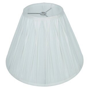Designer Pinch Pleat Softback 14 Silk Empire Lamp Shade
