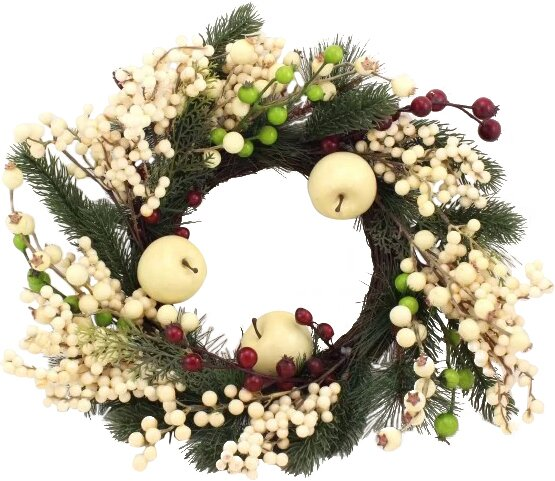 AA Floral Designs Berry Apple 19 Wreath