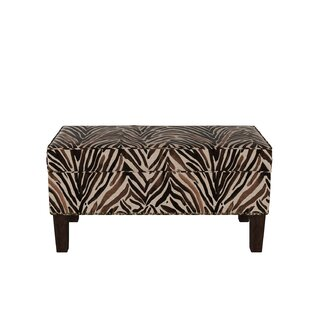 Genevie Wood Storage Bench by Bloomsbury Market