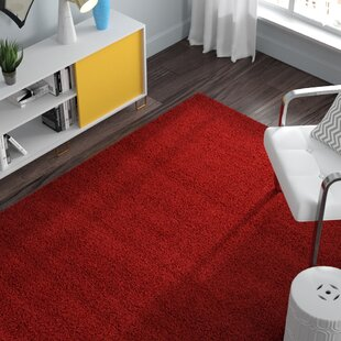 Order Madison Basic Cherry Red Indoor Area Rug By Zipcode Design