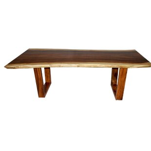 Oklee Live Edge Solid Wood Dining Table