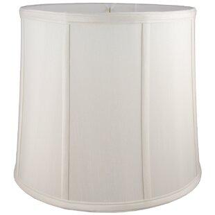 6 Faux Silk Drum Lamp Shade