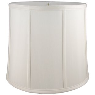8 Faux Silk Drum Lamp Shade