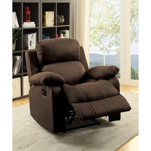 Nakamura Upholstered Manual Glider Recliner