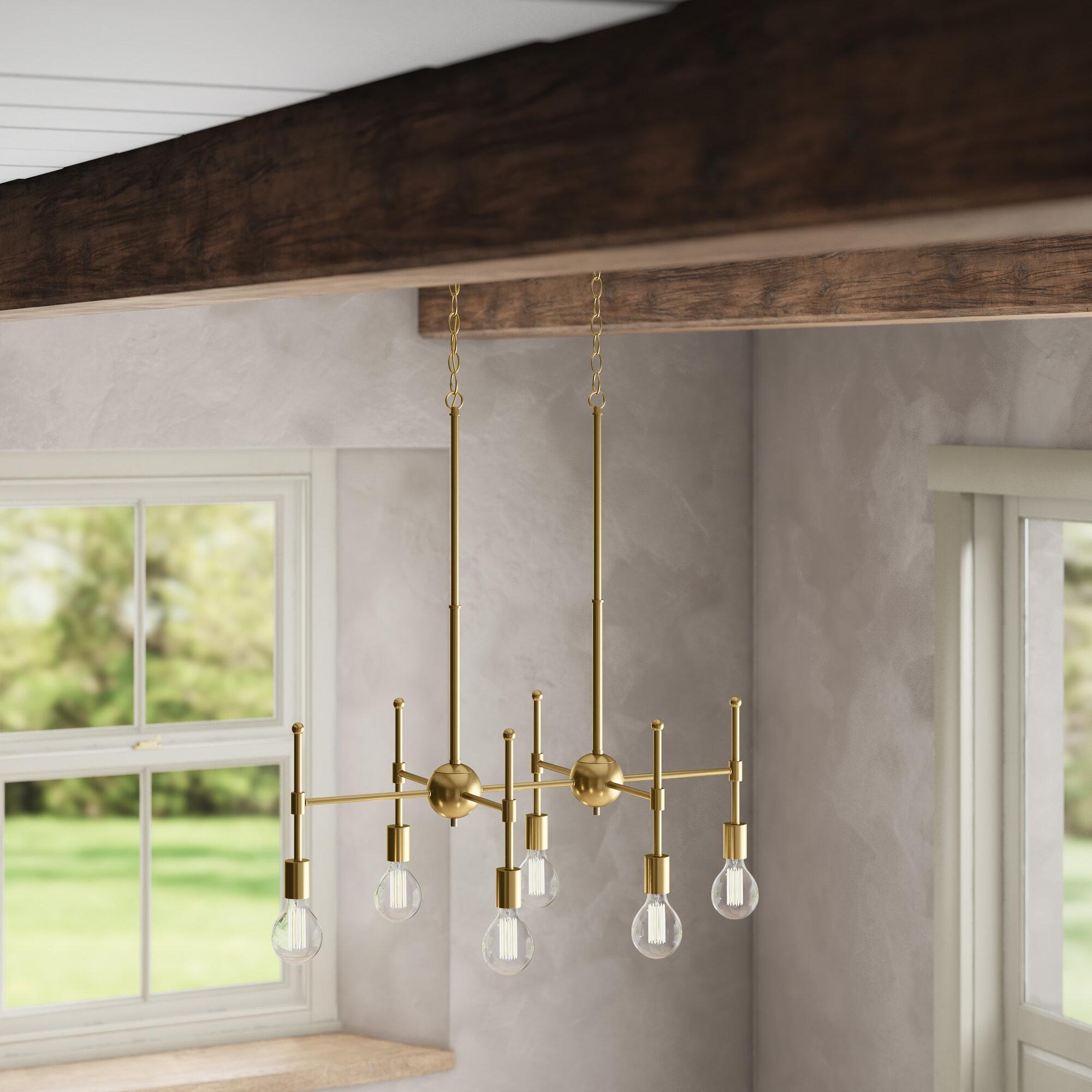 7 10 Light Kitchen Island Pendant Lighting You Ll Love In 2021 Wayfair