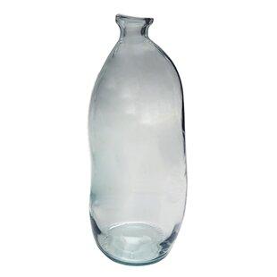 Unique Large Clear Glass Vase | Wayfair.co.uk EX58