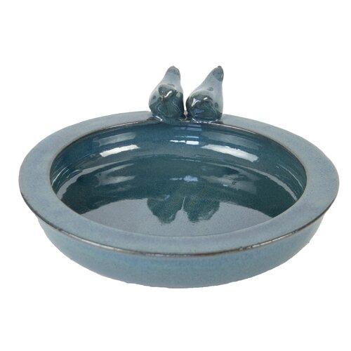 Bird Bath Sol 72 Outdoor Colour: Blue