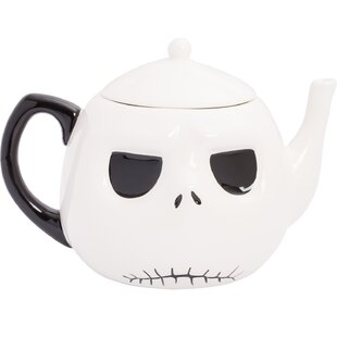 a9d434d0b00e7 Nightmare Before Christmas Jack Head Ceramic Teapot