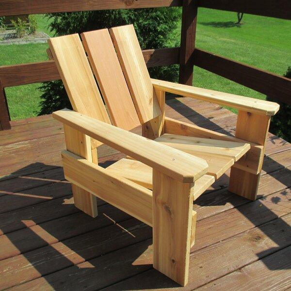 Fantastic Outdoor Cedar Chair Wayfair Andrewgaddart Wooden Chair Designs For Living Room Andrewgaddartcom