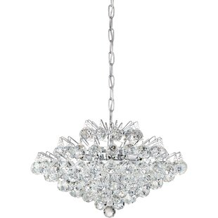 Check Prices Faun 7-Light Crystal Chandelier By Willa Arlo Interiors