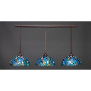Tiffany Kitchen Lights Kitchen island tiffany pendants youll love wayfair 3 light kitchen island pendant workwithnaturefo