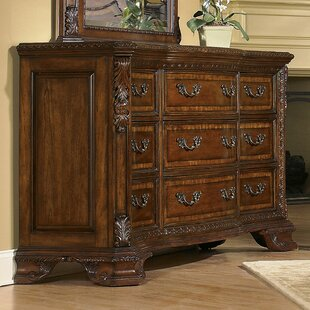 Brussels 9 Drawer Dresser
