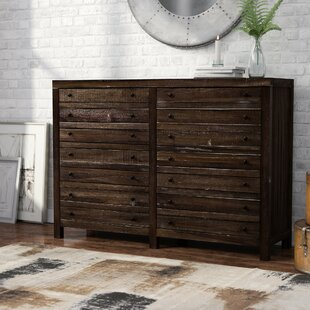 Tierra 8 Drawer Double Dresser