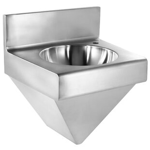 Read Reviews Noah's Metal 11 Wall Mount Bathroom Sink ByWhitehaus Collection