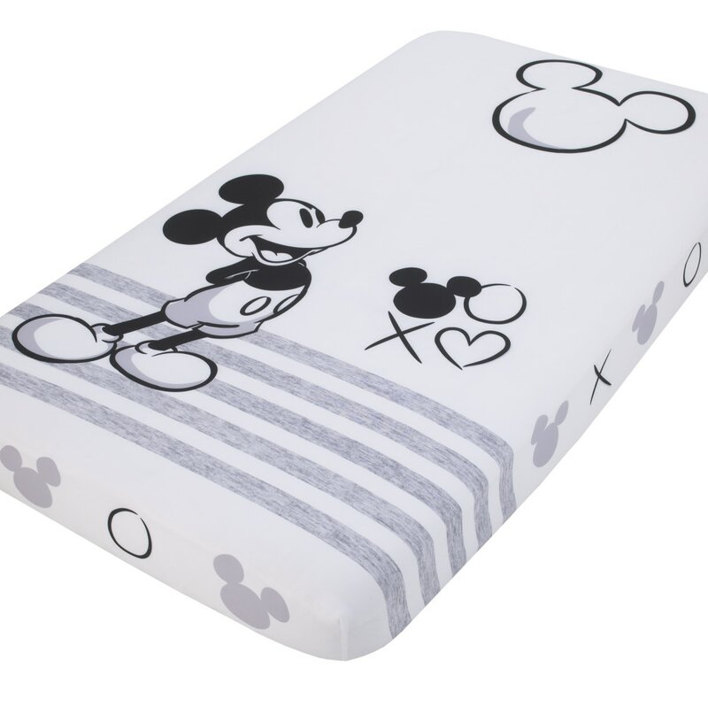 Disney Mickey Mouse Fitted Crib Sheet Wayfair