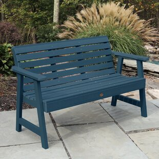 Berry Synthetic Wood Garden Bench