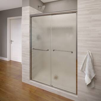 Coastal Industries Paragon Series 54 X 71 Bypass Frameless Shower Door Wayfair